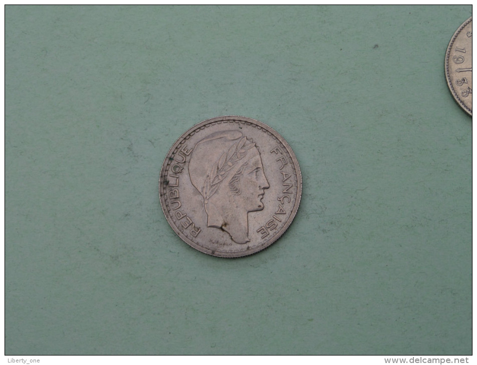 1947 B - 10 Francs / KM 909.2 ( Uncleaned Coin / For Grade, Please See Photo ) !! - France
