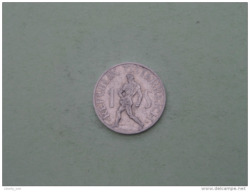 1946 - 1 Shilling / KM 2871 ( Uncleaned Coin / For Grade, Please See Photo ) !! - Autriche