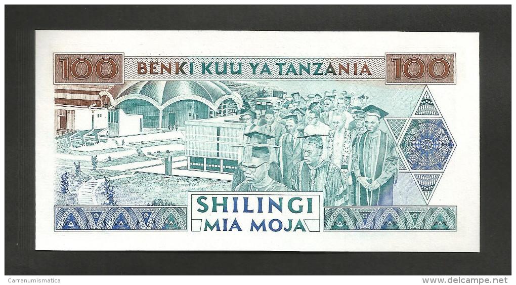 [NC] TANZANIA - 100 SHILINGI (1993) - Tanzanie
