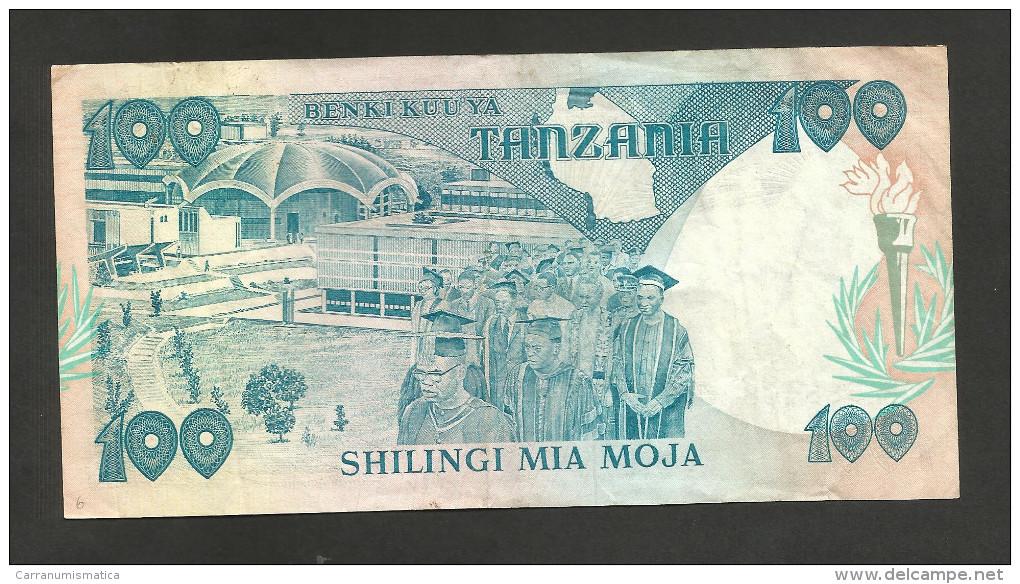 [NC] TANZANIA - 100 SHILINGI (1986) - Tanzanie