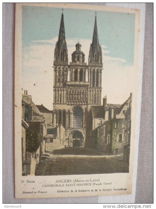 Collection De La Kolarsine Et De La Solution Patauberge : Angers Cathédrale Saint-Maurice - Autres