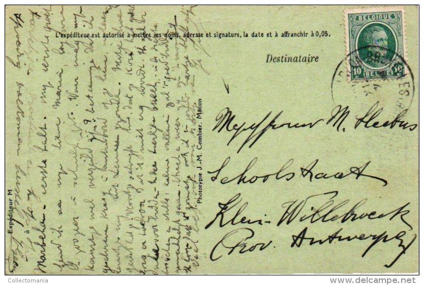 5 Cartes Postales Tres Anciens  Luxembourg Marbehan  Rue De L'église  Hôtel Cornet  Rue De Rulles   La Gare - Cimétière - Habay