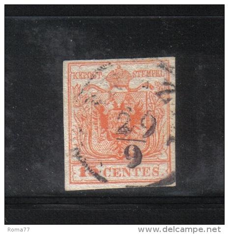 W1558 - LOMBARDO VENETO , Il 15 Cent Usato - Lombardo-Veneto