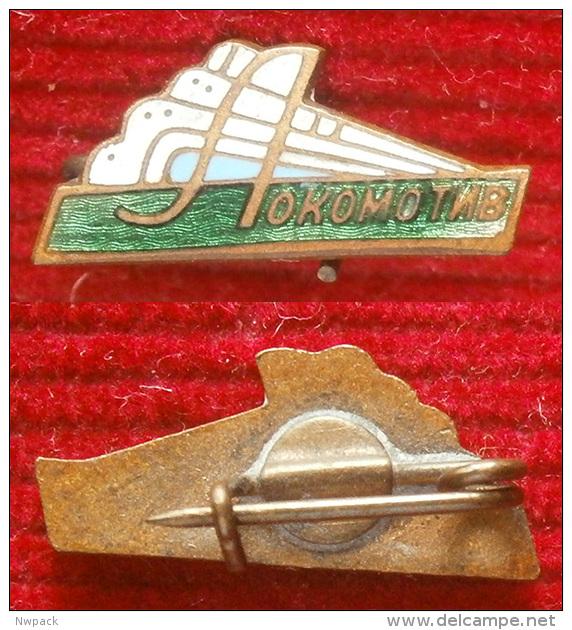 SSSR / USSR / RUSSIA - Football / Soccer Club - DSO LOKOMOTIV, Moscov -  Ename Badge,pin - Fútbol