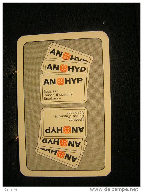 Playcard - 3  Dos De Carte A Jouer,avec Publicitè - An-Hyp -  Bank, Spaarkas, Caisse D'épargne - Ohne Zuordnung