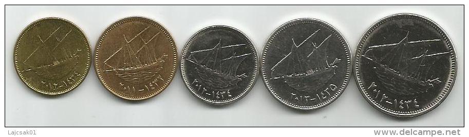 Kuwait 2011-2013 Complete Coin Set - Kuwait