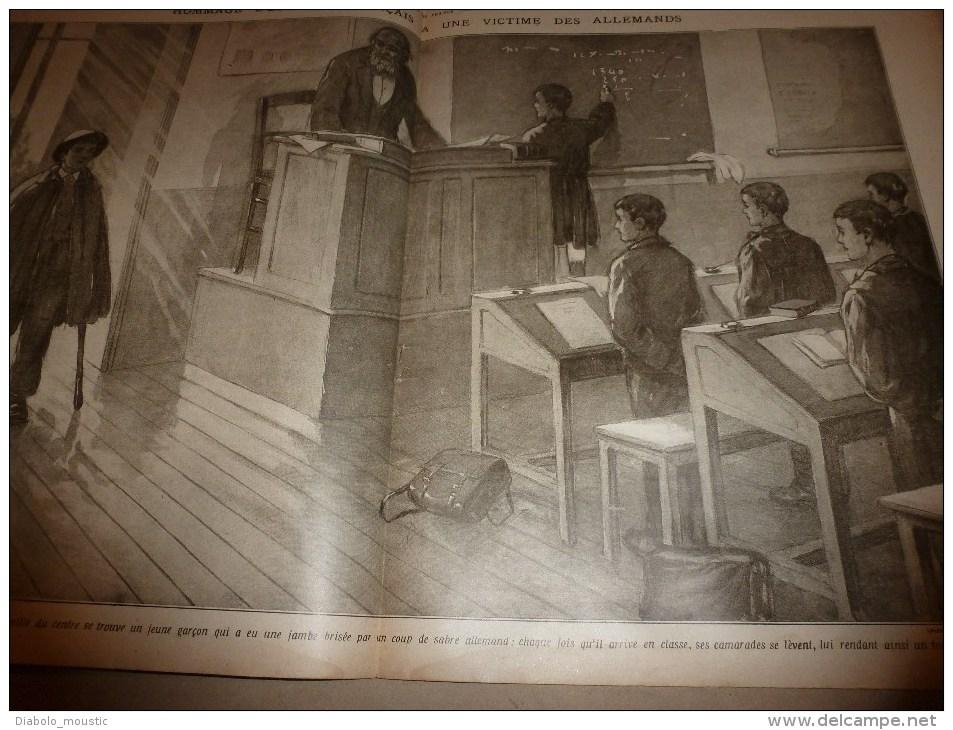 1915 JOURNAL De GUERRE (Le Pays De France): Blamont;Flandre;Carency;Bois De La Mort ;Beauséjour;WARNEFORD Aviateur (UK) - Revues & Journaux