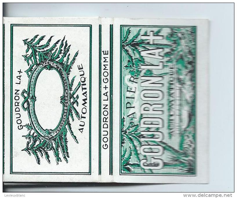 Cahier De Papier à Cigarettes/ Goudron La + /Années 1950-1960 ?     CIG13 - Non Classés