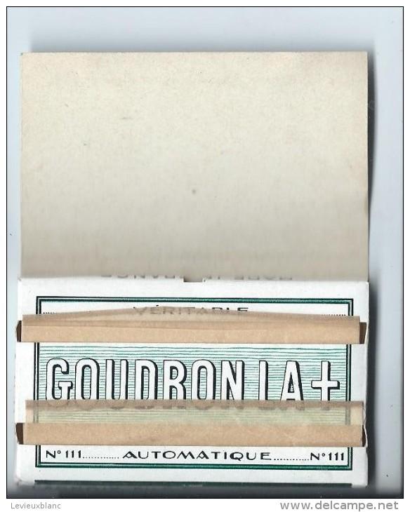 Cahier De Papier à Cigarettes/ Goudron La + /Années 1950-1960 ?     CIG13 - Tabac (objets Liés)