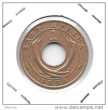# AFRIQUE ORIENTAL  Britannique 1 Cent 1930 TTB - British Colony