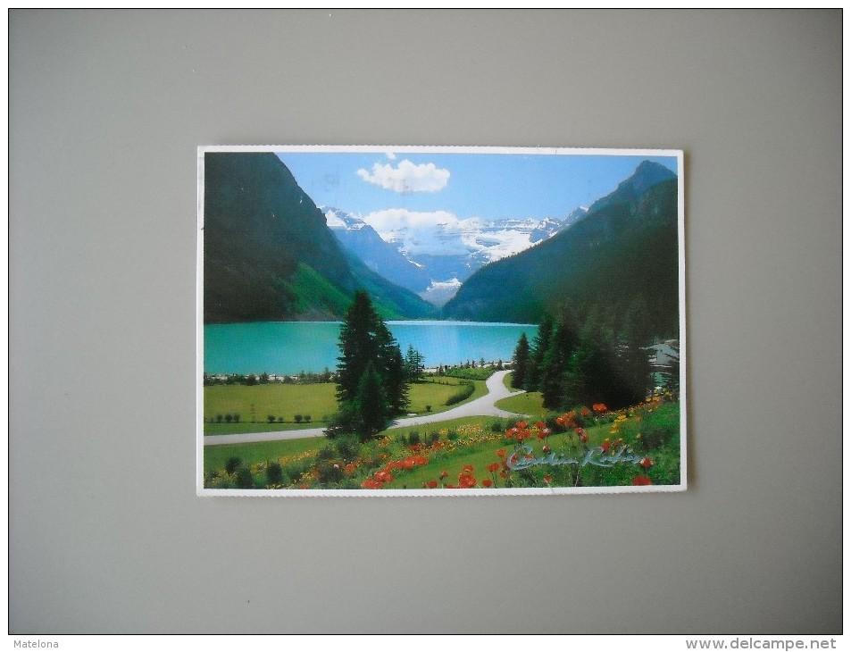 CANADA ALBERTA BEAUTIFUL LAKE LOUISE AND MOUNT VICTORIA - Lac Louise