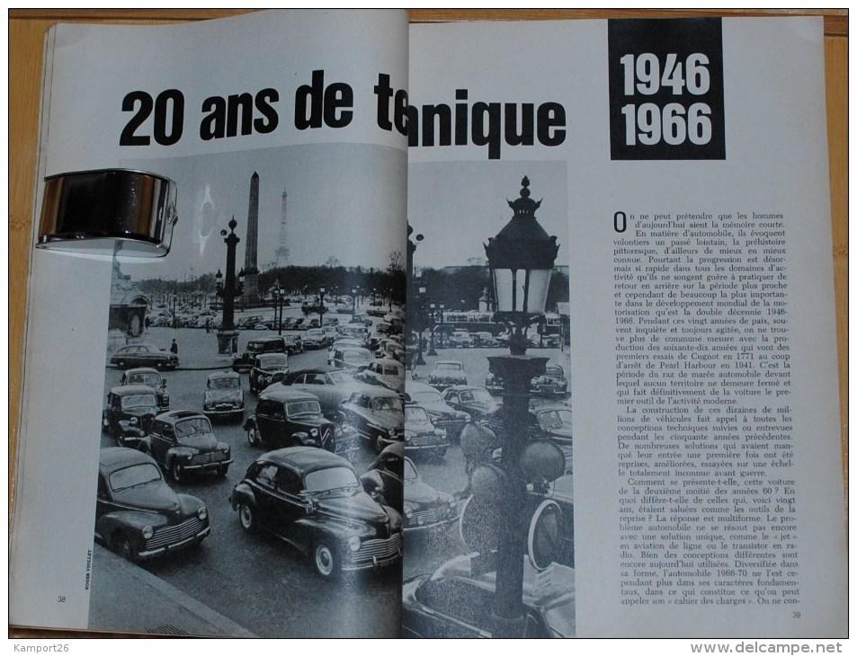 1967 SCIENCE Et VIE L'automobile NUMERO HORS SERIE - Auto/Moto