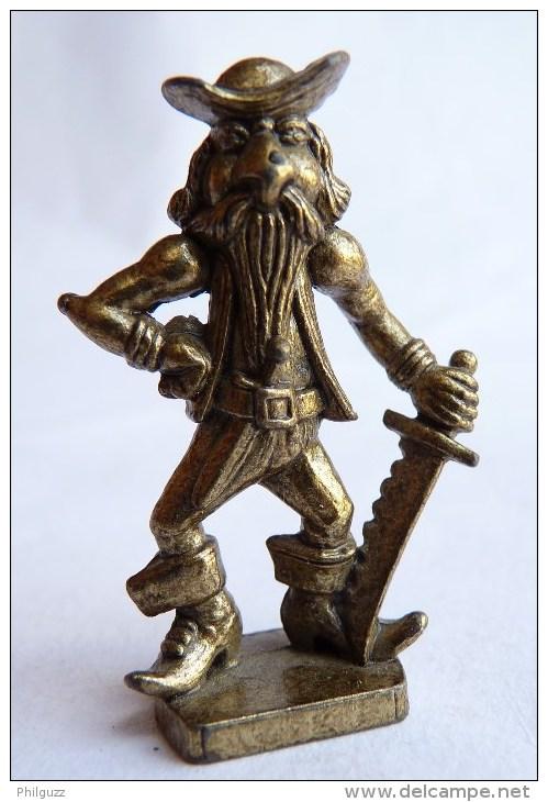 Rare FIGURINE KINDER  METAL PIRATE GROTESQUE 4 - U-EI Piraten - Figurines En Métal