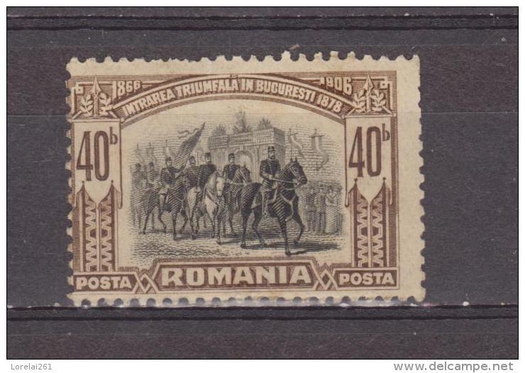 1906 - 40 Anniv. Du Gouvernement  De CHARLES I  Mi No 193  Et Y&T 178  MH - Ungebraucht