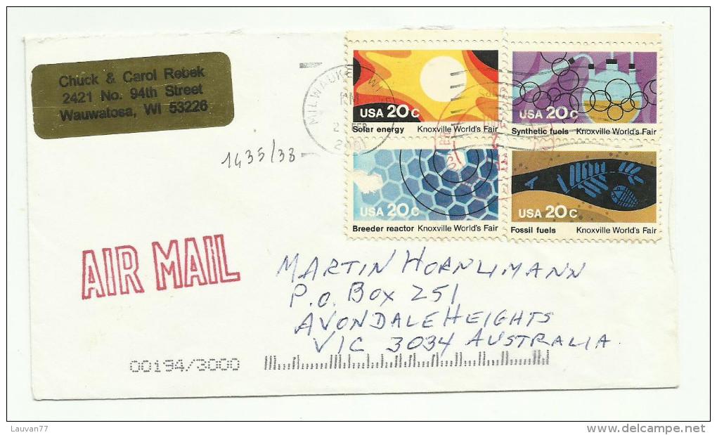 Etats-Unis  N°1435 à 1438 Côte 1.20 Euros - United States