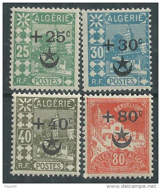 Algérie N° 62 / 63 + 65 + 67 XX Au Profit Des Soldats D´Algérie Blessés Au Maroc, Les 4 Valeurs Sans Charnière, TB - Estonie