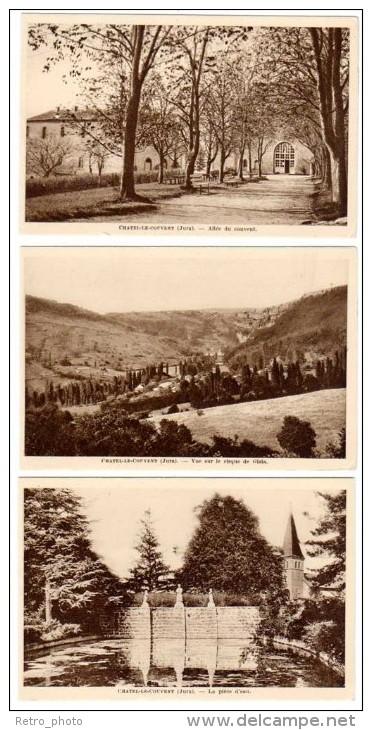 Chatel Le Couvent - 18 Cpa, église, Troupeau De Vaches, Cirque De Gizia, ... - Autres Communes