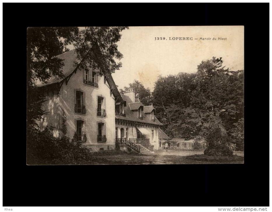29 - LOPEREC - Manoir Du Nivot - Agriculture - - Autres Communes