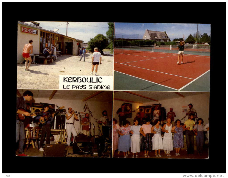 29 - LOCQUIREC - Kerboulic - Jeux De Boules - Tennis - Fez Noz - Locquirec