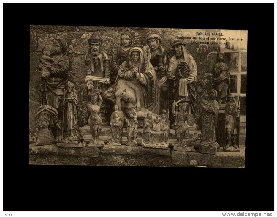 29 - LOCRONAN - Sculpteur - JOB LE GALL - Sculptures - Locronan
