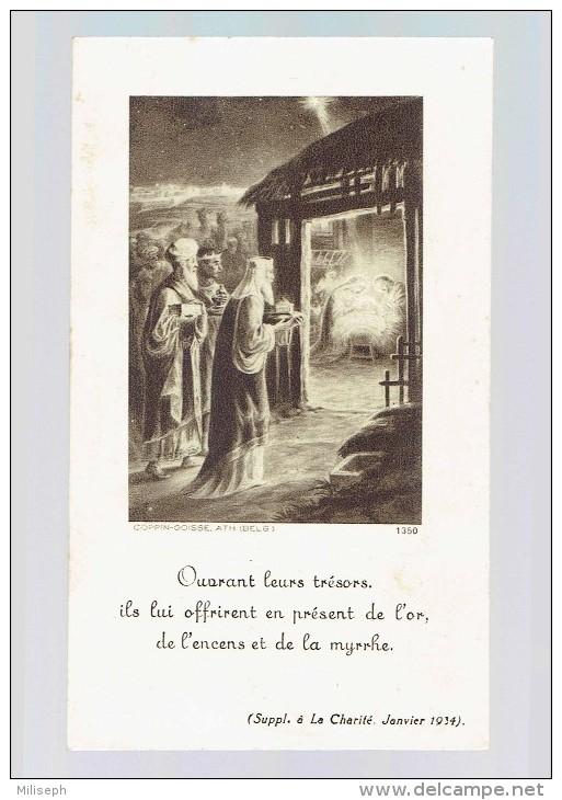 Image Religieuse - Supp. La Charité 1934 - Offerte Pour Les Obsèques Du Roi Albert 1er - Imp. COPPIN-GOISSE   (3657) - Devotieprenten