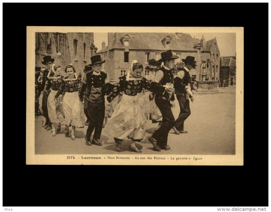 29 - LOCRONAN - Noce Bretonne - Danse Bretonne - Locronan