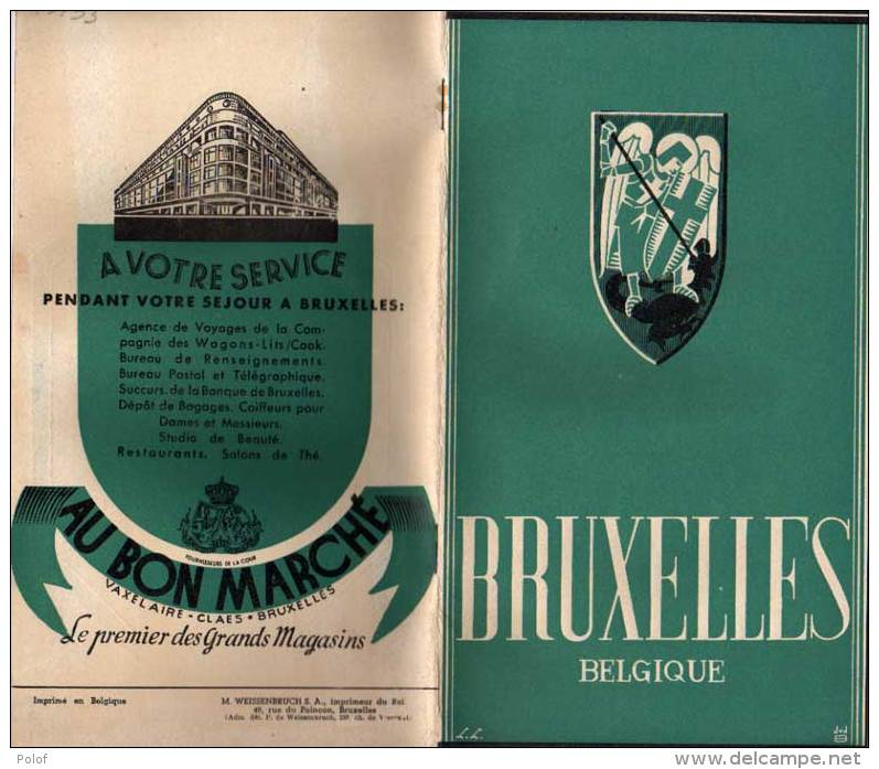 Guides Touristiques - BRUXELLES - Nombreuses  Photos  (VP 713) - Livres, BD, Revues