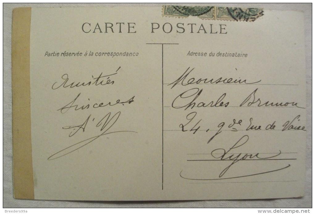 Lago Di Como Italie Lac De Como De Come Cartolina 2 Scans Cpa Ancienne Carte Postale Postcard - Como