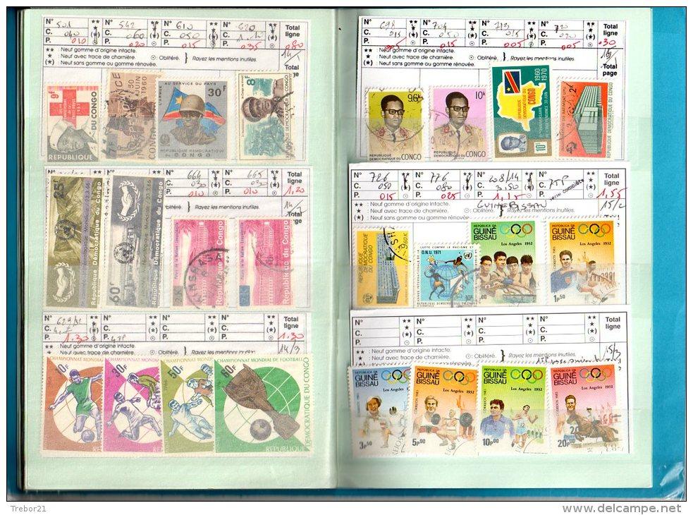 Carnet: BECHUANALAND,BASUTAULAND, KATANGA,BURUNDI,TOGO,GUIN ÉE BISSAU - Cote 152,80  € - Collections (with Albums)