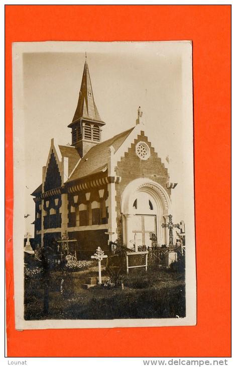 14 AMFREVILLE - église , Cimetière  Carte Photo - Autres Communes