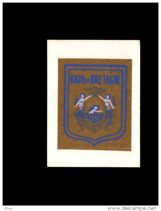 35 - BAIN-DE-BRETAGNE - Autocollant - Autres Collections