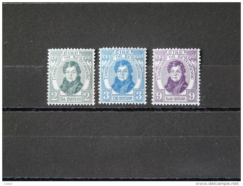 IRLANDE - 1929 N° 55/57 * - 1922-37 Stato Libero D'Irlanda