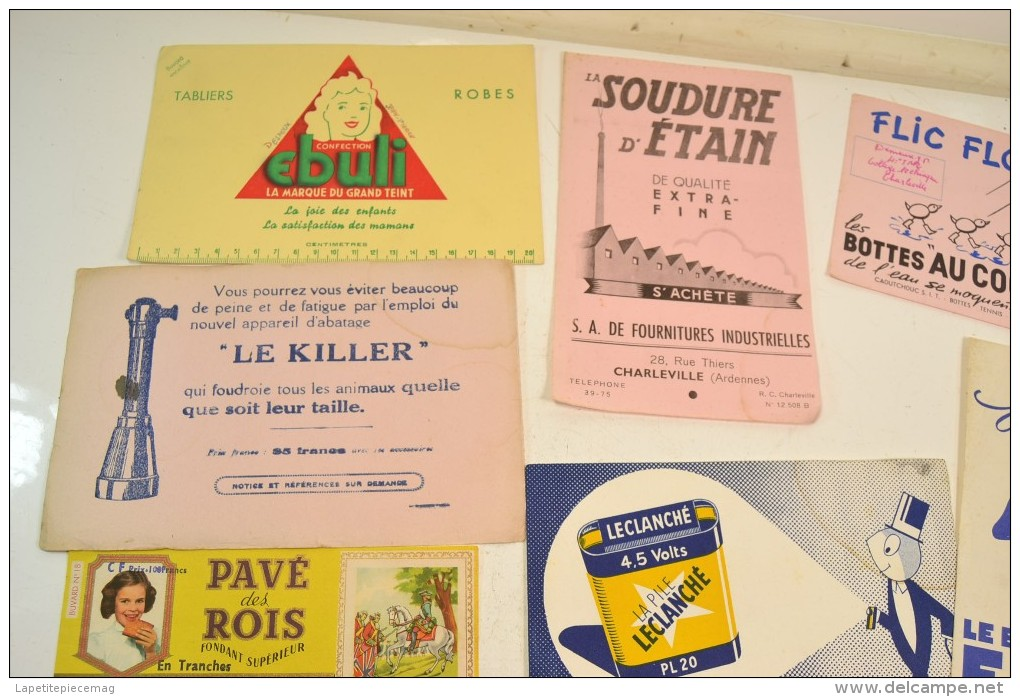 (AR11) Lot De Plusieurs Buvards Anciens - Collections, Lots & Séries