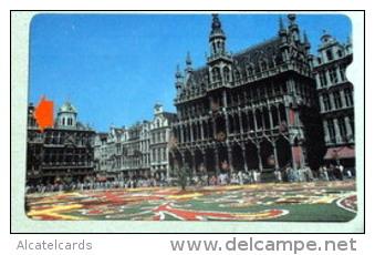 "Alcatel Demo -test- Fieldtrial Card. Catalogue: SP 11. Barcode Split. RRR 3 Cards Known! Price ""H"". - Belgique"