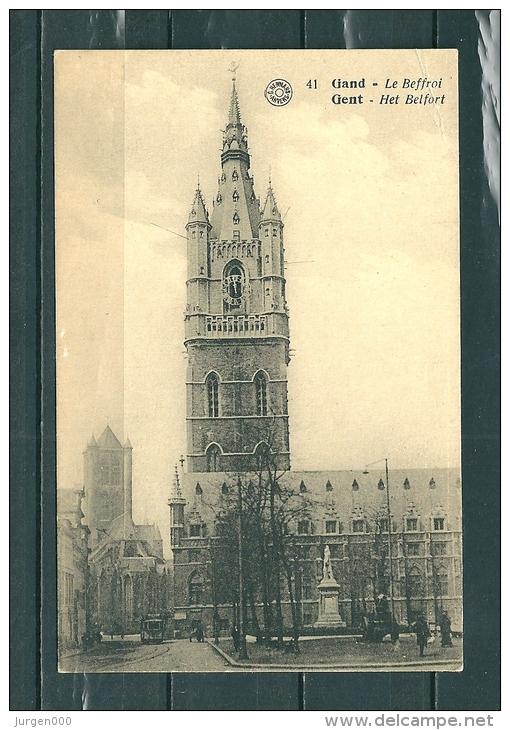GAND: Le Boffroi, Niet Gelopen Postkaart  (GA14699) - Gent