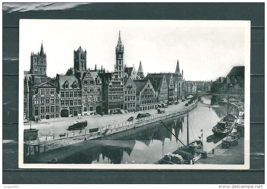 GAND: Quai Aux Herbes, Niet Gelopen Postkaart  (GA14769) - Gent