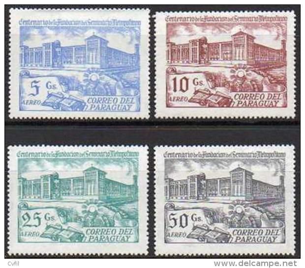 PARAGUAY  1981 - Centenaire De La Fondation Du Séminaire Métropolitain (4) - Paraguay