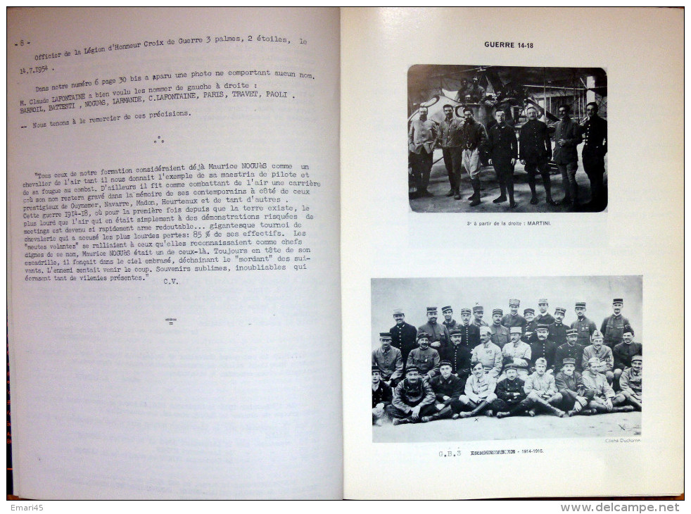 Aviation/MAURICE NOGUEZ/AirFrance/ Bulletin Annuel Du  Comité Du Souvenir 1966 - Aviation Commerciale