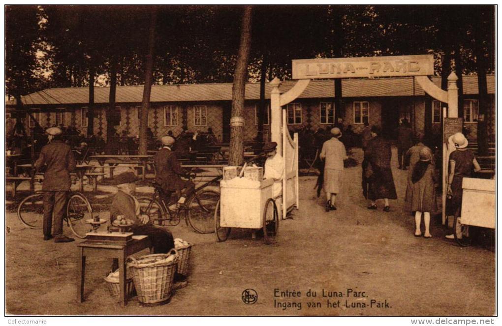 BRABANT  2 CP Kapelle Op Den Bosch   Ingang Luna Park   Zicht Op De Vaart   1905 - Kapelle-op-den-Bos