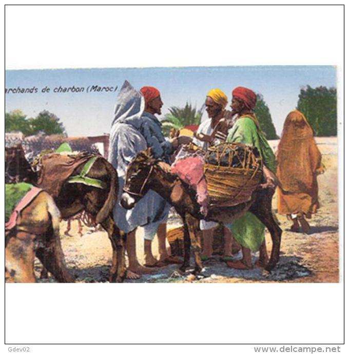 AFDNTP1055-LFTC474TCME.Maroc. Morocco.TARJETA DE MARRUECOS.Mercader De Carbon. - Mercados