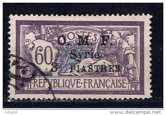 SYR+ Syrien 1921 Mi 164 166 Marianne Merson Aufdruck - Oblitérés