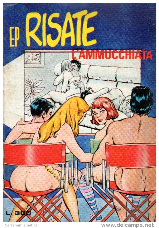 EP RISATE N°22  L'AMMUCCHIATA - Libri, Riviste, Fumetti