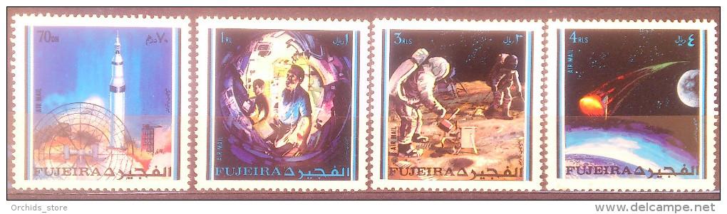 Fujeira 1971 MNH Apollo 14 Space Exploraton Mission - Fujeira