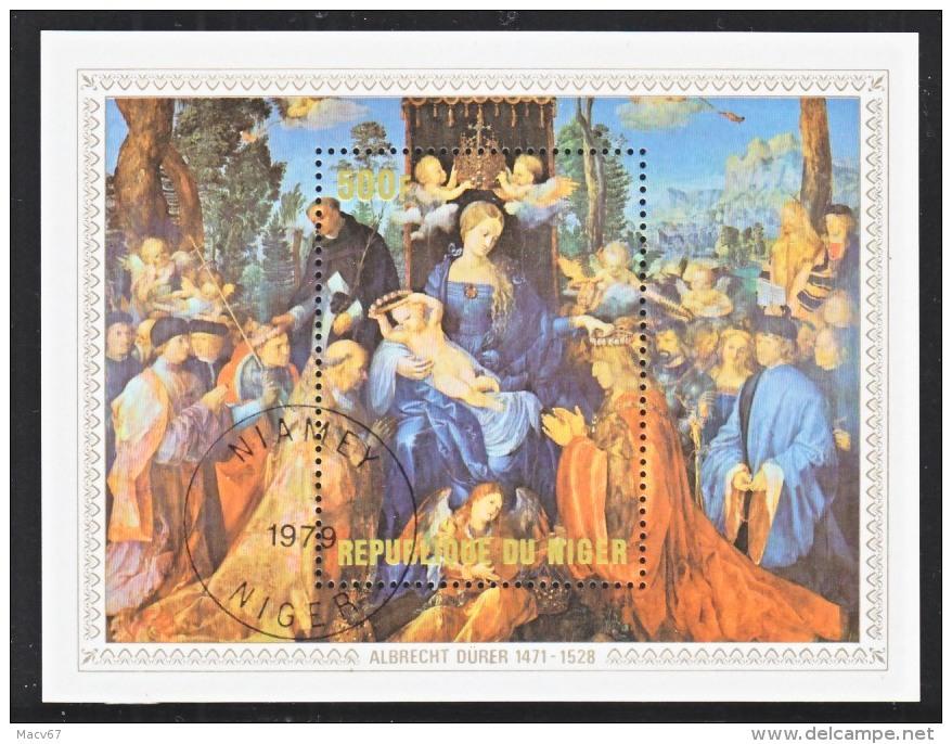 NIGER  466   (o)   ALBRECHT  DURER   CHRISTMAS - Religious
