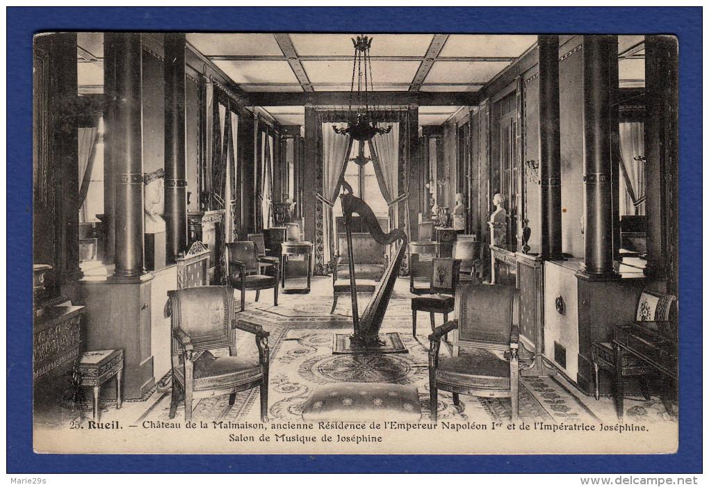 92 LA MALMAISON Château, Ancienne Résidence De L'Empereur Napoléon 1er, Salon De Musique De Joséphine - Chateau De La Malmaison