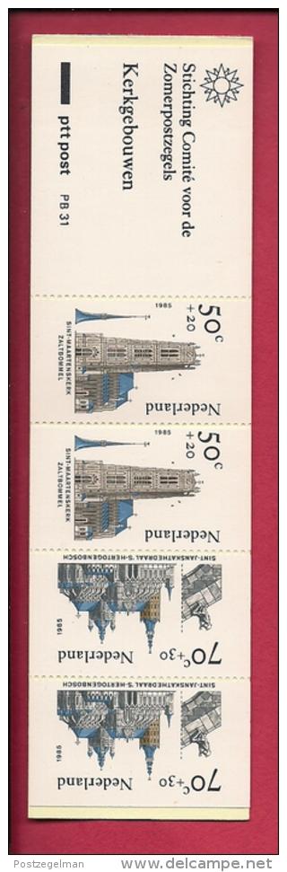 NEDERLAND, 1985, MNH Stamps/booklet , Church Buildings,  NVPH Nr. PB 31, F3074 - Booklets
