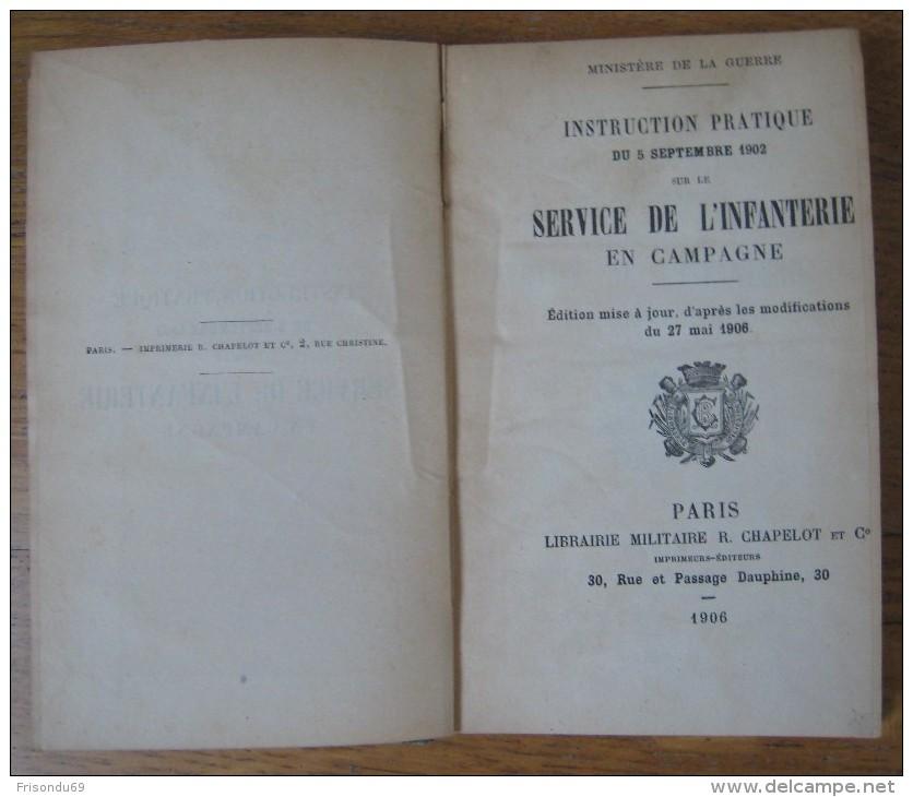 Instruction Pratique Du 5 Septembre 1902 Sur Le Service De L´infanterie En Campagne . - French