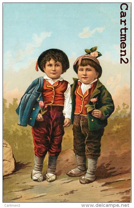 TIPI ITALIANI TRAVESTONO FOLCLORE TYPES ITALIENS COSTUME FOLKLORE SICILE Stengel § Co. - Costumi