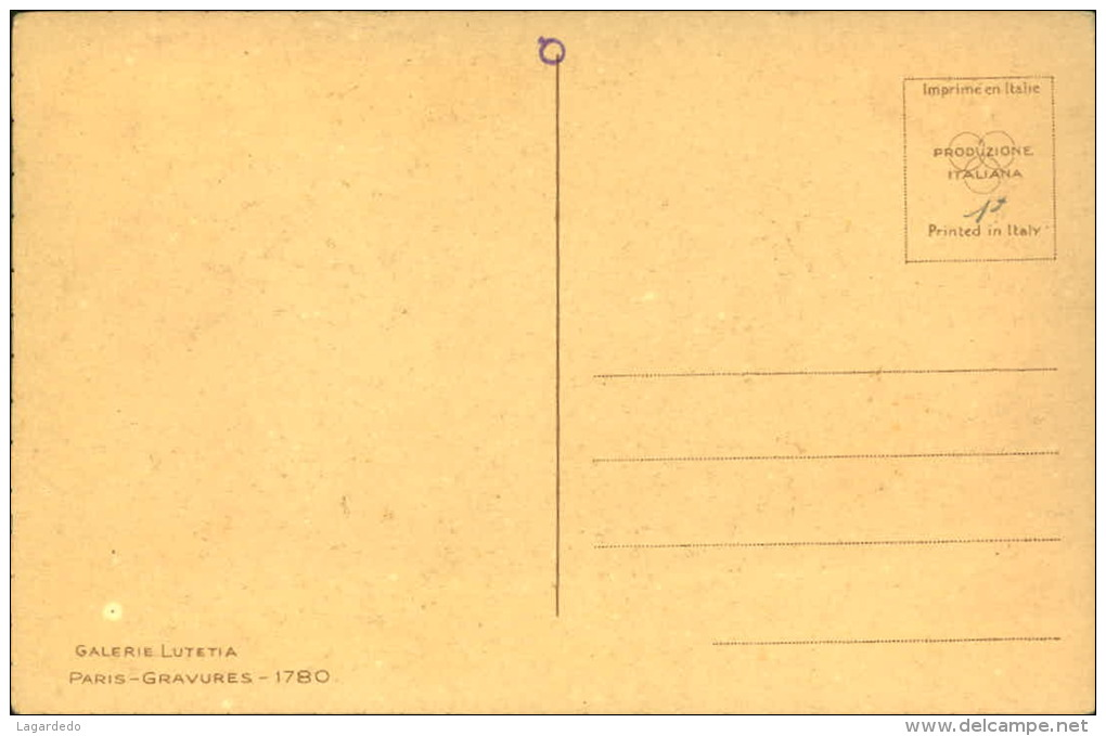 PAYSAGE DANS RECTANGLE SIGNEE - Künstlerkarten