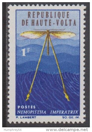 1966 - HAUTE-VOLTA - Y&T 160 - Nemophista Imperatrix (*/MH) - Haute-Volta (1958-1984)